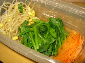 ゆで野菜調理器
